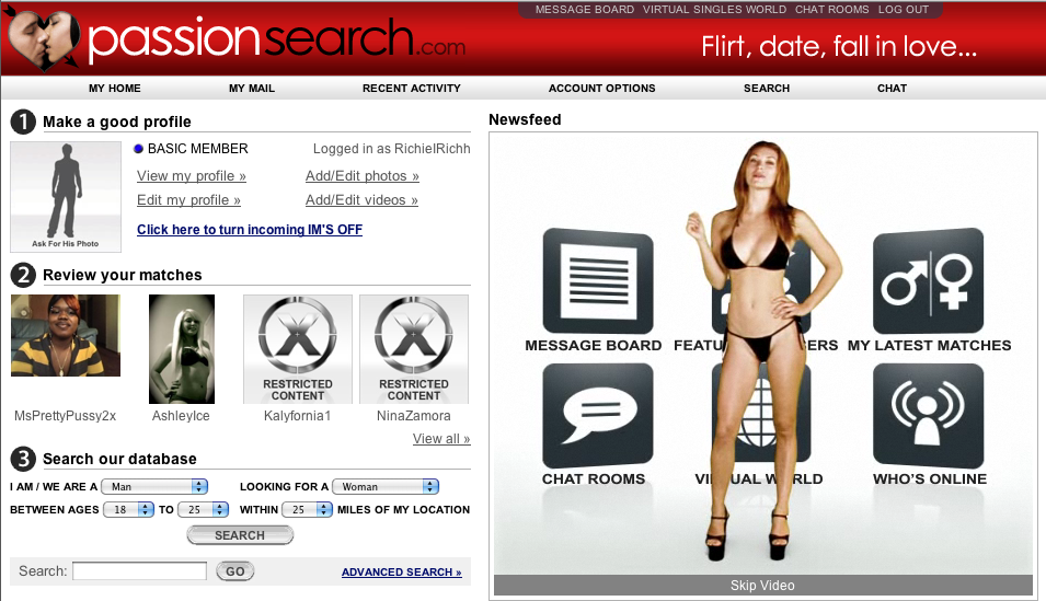 passionsearch-signup