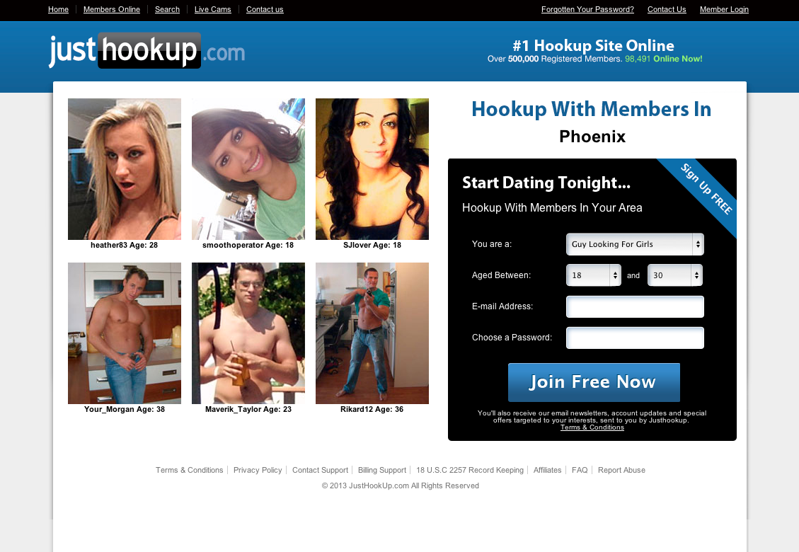 free chat hookup contact sites