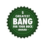 Best Bang For Your Buck Award